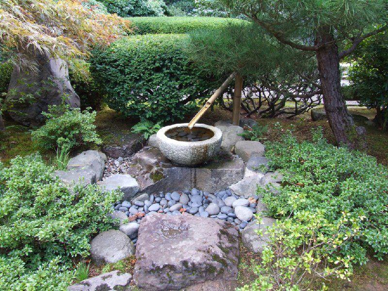 Jardin japonais - Exemple de jardin zen ...