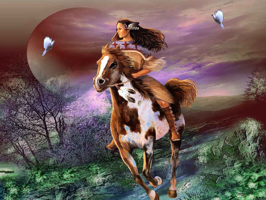 peinture chevaux wallpaper - photo #12